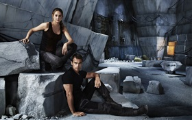 Divergente, Shailene Woodley, Theo James
