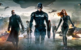 2014 filme, Captain America: The Winter Soldier HD Papéis de Parede