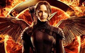 Jennifer Lawrence, The Hunger Games: Mockingjay, Parte 1 HD Papéis de Parede