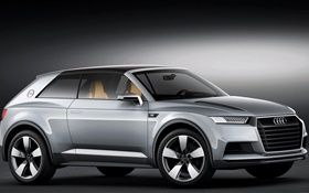 Audi Allroad Shooting Brake Concept car HD Papéis de Parede
