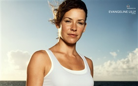 Evangeline Lilly como Kate em Lost